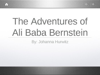 Treasures Unit 1 Vocabulary - Ali Baba