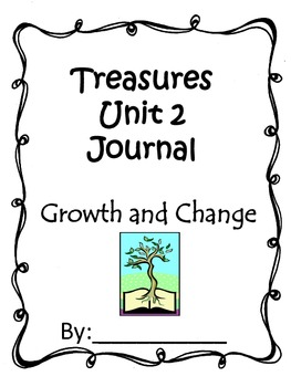 Treasures Unit 2 Journal for Second Grade