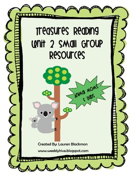 Treasures Unit 2 Small Group Resources