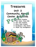 Treasures Unit 2 Thematic Center Activities