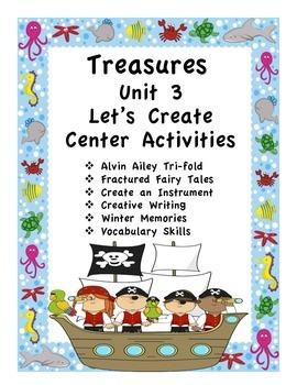 Treasures Unit 3 Thematic Center Activities