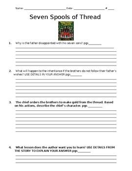 Treasures Unit 4- Comprehension Check Questions