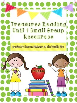 Treasures Unit 4 Small Group Resources