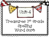 Treasures Unit 4 Spelling Word Sort {1st Grade}