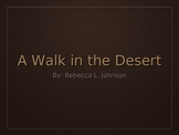Treasures Unit 5 Reading - A Walk in the Desert