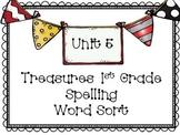 Treasures Unit 5 Spelling Word Sort