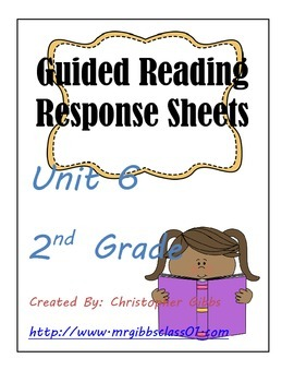 Treasures Unit 6 2nd Grade Guided Response