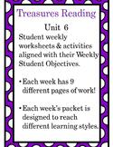Treasures Unit 6 Bundled Activities