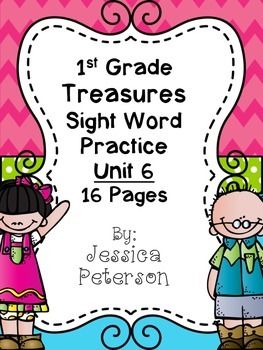 Treasures Unit 6 Sight Word Practice {1st Grade}