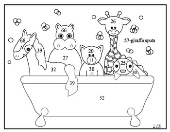 Treasures Unit 6:Splish Splash Animal Baths Extension activity