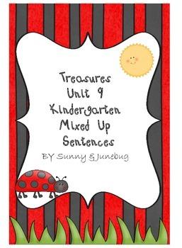 Kindergarten Treasures Unit 9 Mixed Up Sentences