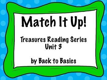 Treasures Vocabulary Activities - 3rd Grade - Unit 3