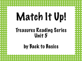 Treasures Vocabulary Activities - 3rd Grade - Unit 5