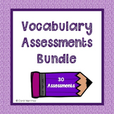 Treasures Vocabulary Assessments~3rd Grade {Bundled}