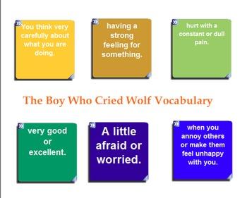 Treasures Vocabulary Games for Smartboard Grade 3