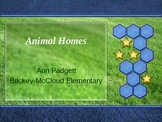 Treasures Vocabulary Power Point for Animal Homes