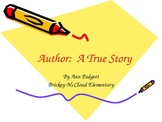 Treasures Vocabulary Power Point for Author: A True Story