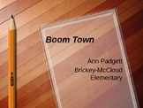 Treasures Vocabulary Power Point for Boom Town