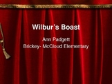Treasures Vocabulary Power Point for Wilbur's Boast