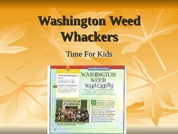 Treasures Washington Weed Whackers Vocabulary PowerPoint