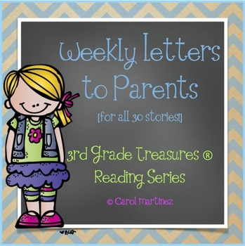 Treasures Spelling and Vocabulary Lists {3rd Grade}
