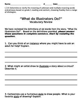 Treasures-What Do Illustrators Do?