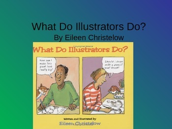 Treasures What Do Illustrators Do Vocabulary PowerPoint
