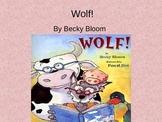 Treasures Wolf Vocabulary PowerPoint