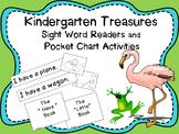 Treasures Kindergarten Sight Word Readers and Pocket Chart Activities