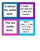 Treasures reading strategies cubes