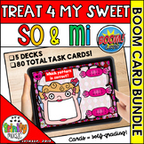 Treat 4 My Sweet (So and Mi) Boom Digital Task Cards BUNDLE
