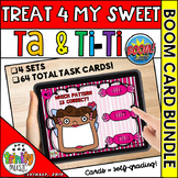 Treat 4 My Sweet (Ta and Ti-Ti) Boom Digital Task Cards BUNDLE