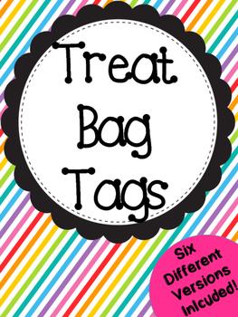 Treat Bag Tags