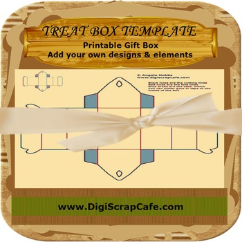 Treat Box Template CU OK