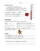 Treat Measuring Lab - Christmas Theme