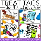 Treat Tags and Gift Cards FOR THE WHOLE YEAR