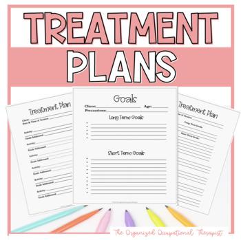 Treatment Plans for OT PT and ST