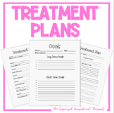 Treatment Plans for OT PT and ST