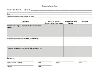 Treatment Safety Plan