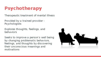 Treatment of Mental Disorders