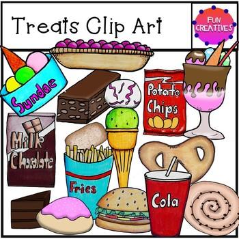 Treats Clip Art