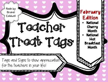 Treats for Teachers: February Edition