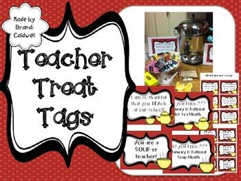 Treats for Teachers January