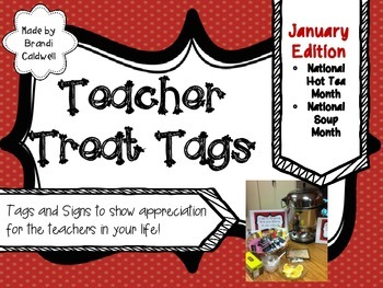 Treats for Teachers January