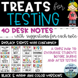 Treats for Testing--40 Desk Notes to Encourage Students du