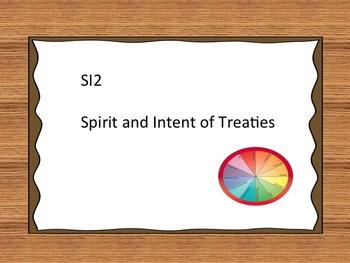 Treaty Education I Can Statements - Grade 2