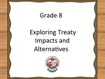 Treaty Education I Can Statements - Grade 8