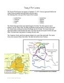 Treaty of Fort Laramie Article and Writing