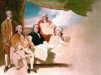 Treaty of Paris and the End of the Revolutionary War