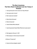 Treaty of Versaille Documentary Questions